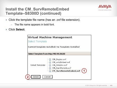 Install the CM_SurvRemote