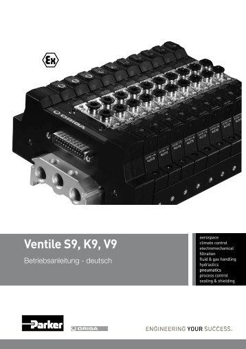 Ventile S9, K9, V9 - parker-origa.com