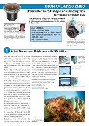 Underwater Micro Fisheye Lens