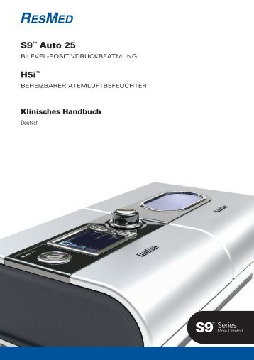 S9™ Auto 25 H5i™ - ResMed