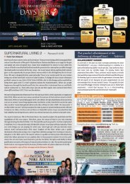 Download Bulletin for January 20th 2013 - Daystar