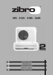 S95 - S125 - S185 - S245 - Manual