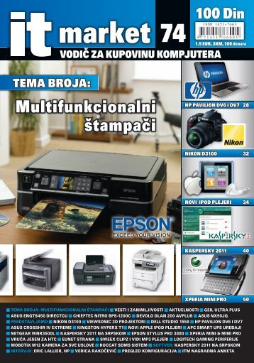 Multifunkcionalni štampači - IT Market Magazin