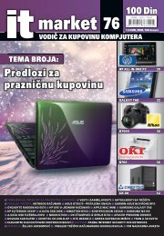 Predlozi za prazničnu kupovinu 76 100 Din - IT Market Magazin