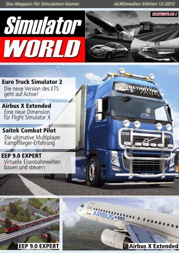 Airbus X Extended EEP 9.0 EXPERT Euro Truck Simulator ... - Aerosoft