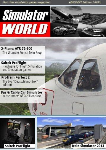 Train Simulator 2013 Saitek ProFlight X-Plane: ATR 72 ... - Aerosoft