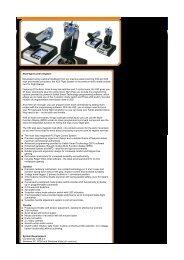 X52 Flight Control System Developed using customer ... - 1000 Ordi