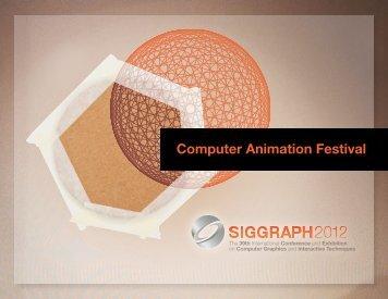 Computer Animation Festival - TU Bergakademie Freiberg