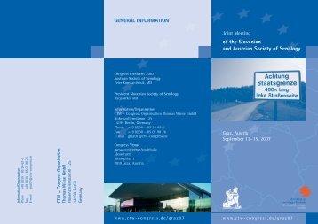 of the Slovenian and Austrian Society of Senology