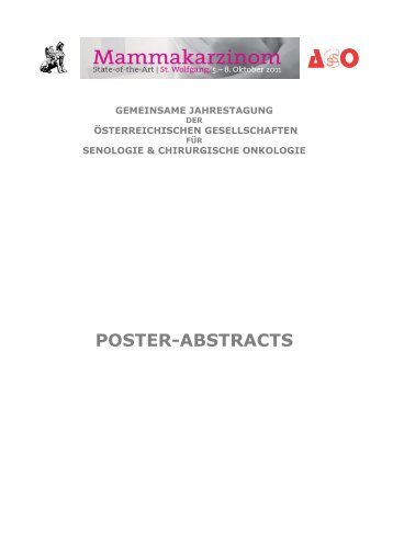 POSTER-ABSTRACTS - Vienna Medical Academy