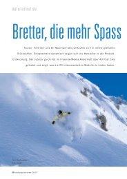 Skitest: 20 Paar Ski im Test - outdoor guide