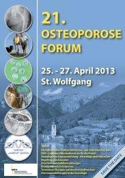 Flyer Osteoporose 2013