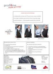 1 unsere kunden service-leistungen - Profiline Berufsmode