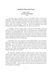 Gandharan Manuscript Project