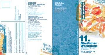 Maritimer Workshop