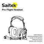 Pro Flight Headset - Saitek