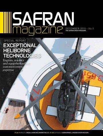 exceptional heliborne technologies - Safran in North America
