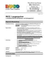 RICO Laugenpulver