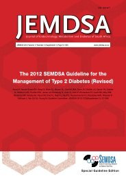 The 2012 SEMDSA Guideline for the Management of Type 2 Diabetes
