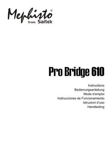 Saitek Pro Bridge 610