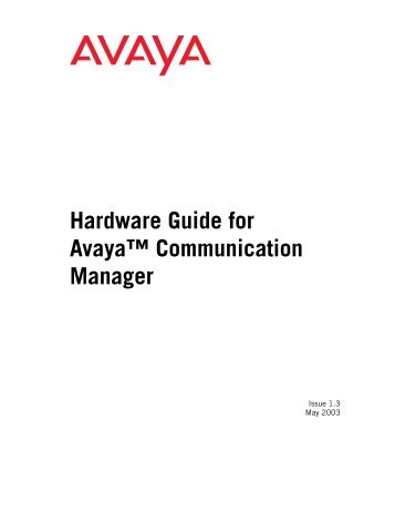 Detailed Description - Avaya Support