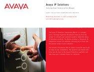 Avaya IP Solutions - Turbocomputer.net