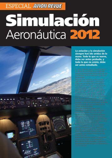 AVION REVUE 08-2012 – Especial Simulación - Virtual Fly