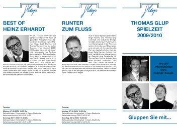 Thomas Glup Programmheft 2009/2010
