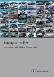 Rettungskarten Pkw - After-Sales Portal Mercedes-Benz - Daimler