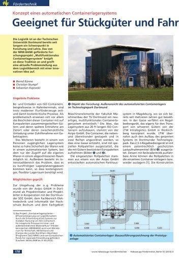 Bericht herunterladen (PDF, 380 kB) - LTW Intralogistics GmbH