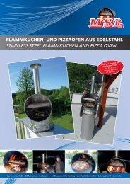 FLAMMKUCHEN- UND PIZZAOFEN AUS EDELSTAHL STAINLESS ...