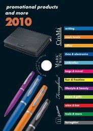 Werbeartikel - Katalog 2010 - BlackStone