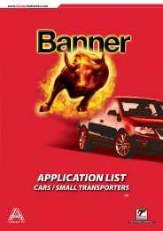 application list cars and smalltransporters - Automotobatteries