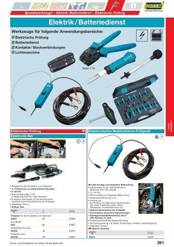 Elektrik / Batteriedienst - Hazet