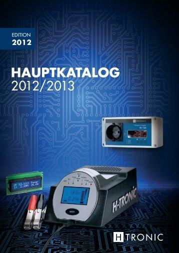 HAUPTKATALOG 2012/2013