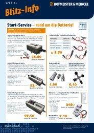 Batterieservice 2012