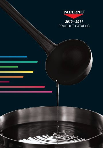 2010 - 2011 PRODUCT CATALOG - Horeco