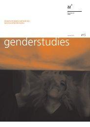Nr. 15, HS 2009, Transsexualität (pdf, 1.8 MB - Interdisziplinäres ...