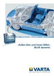 BLUE dynamic - VARTA Automotive PartnerNet