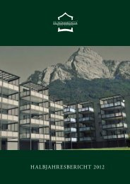 HalbjaHresberICHT 2012 - Fundamenta Real Estate AG