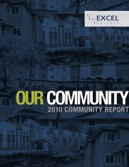 2010 Annual Report - the Excel Society