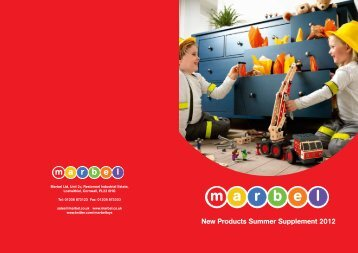 New Products Summer Supplement 2012 - Marbel Toys