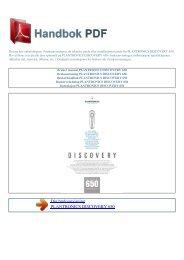 Bruker manual PLANTRONICS DISCOVERY 650 - HANDBOK PDF ...