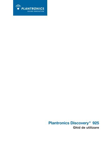 Plantronics Discovery® 925