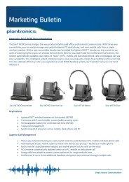 Plantronics Savi® W700 Series Introduction - Plantro.net