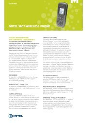 Mitel 5330e IP Phone Data Sheet (PDF) - IPC Communications