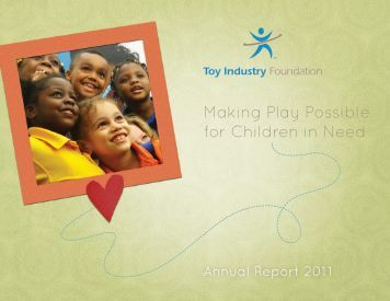 2011 Annual Report - Toy Industry Association