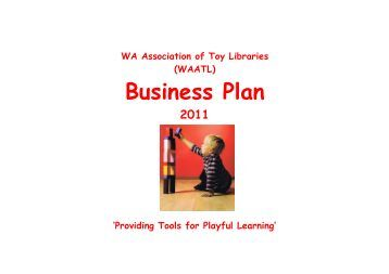 Association business plan