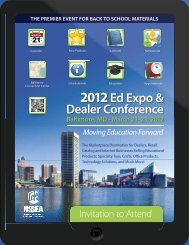 Ed Expo - National School Supply & Equipment Association
