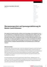 Application Note (PDF) - download - Beckhoff
